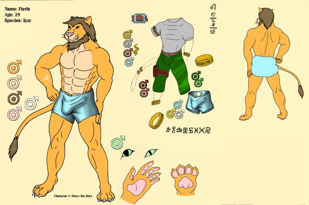 Character Sheet - Fierfe