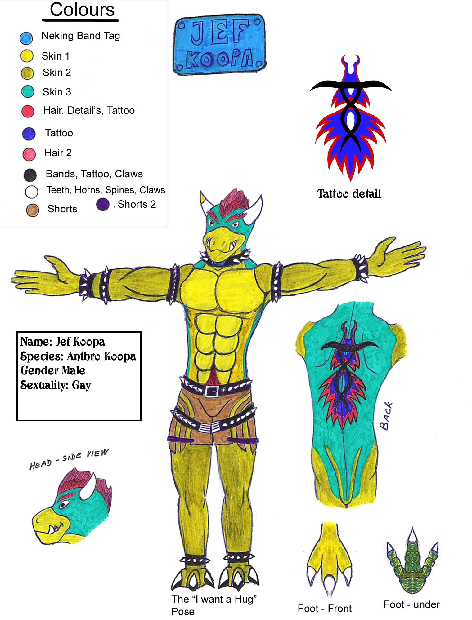 Character Sheet - Jef