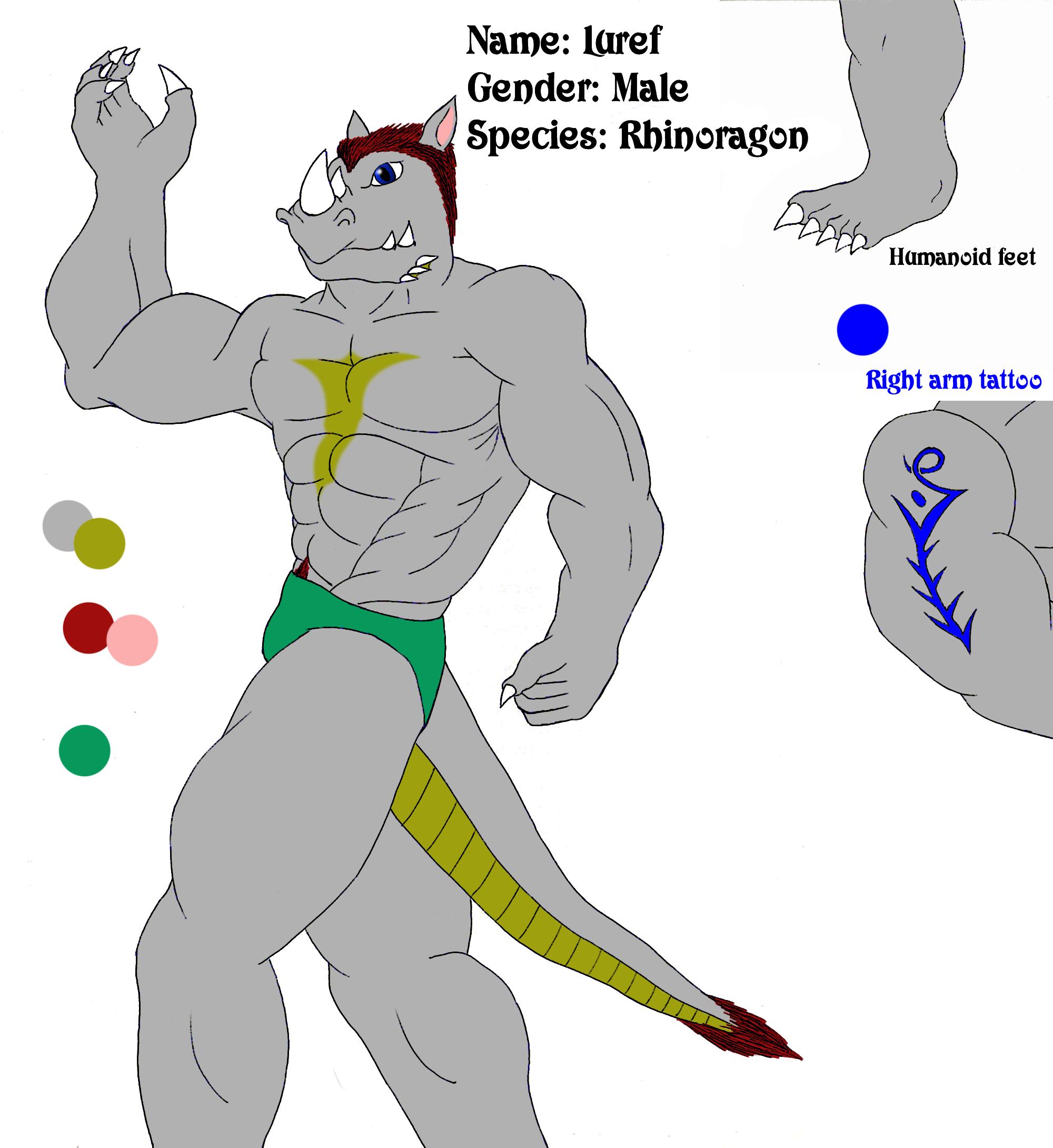 Character Sheet - Luref