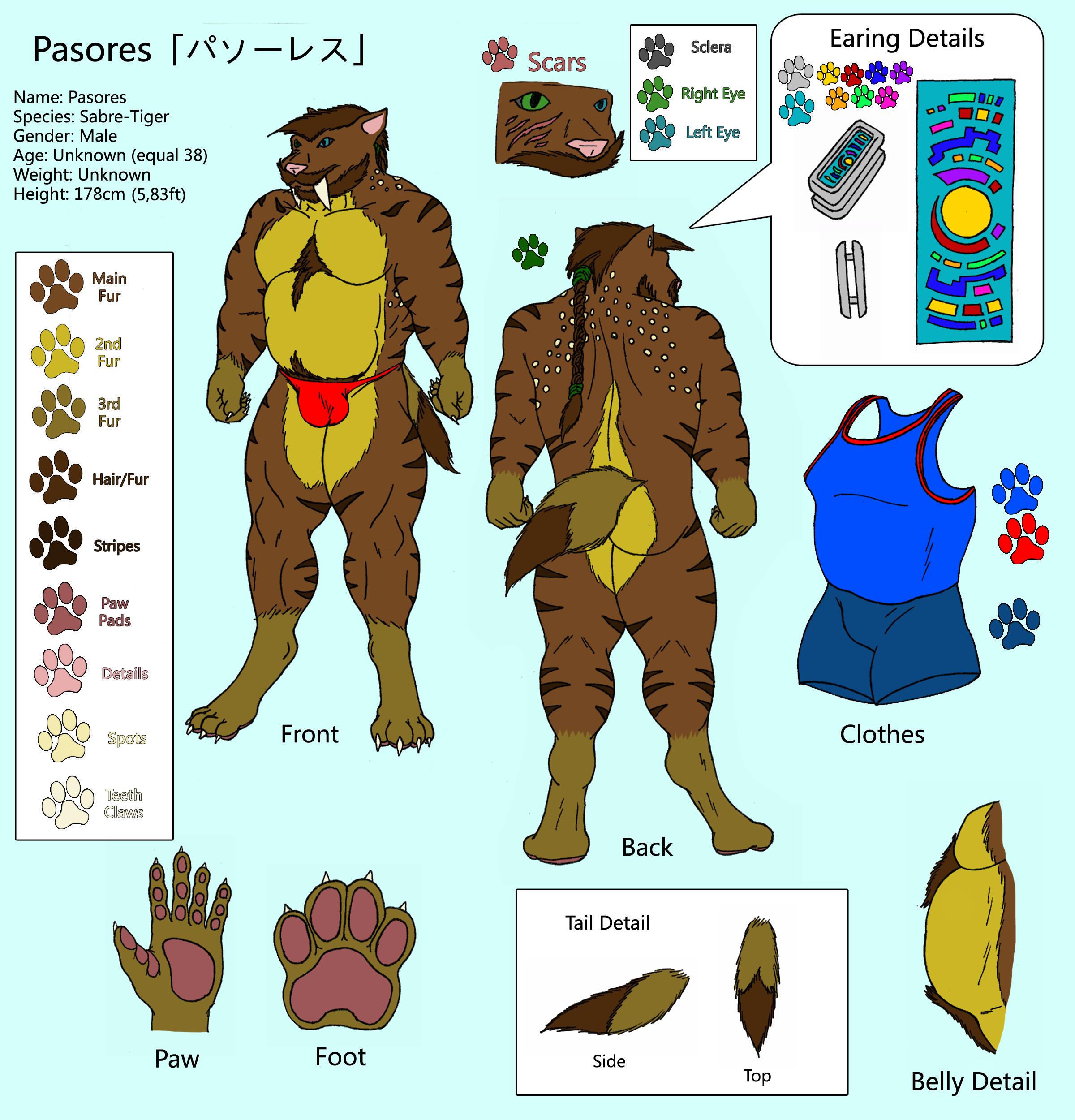 Character Sheet - Pasores