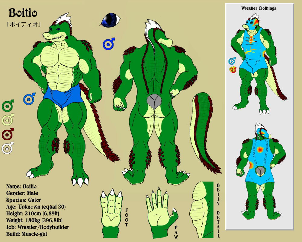 Character Sheet - Boitio