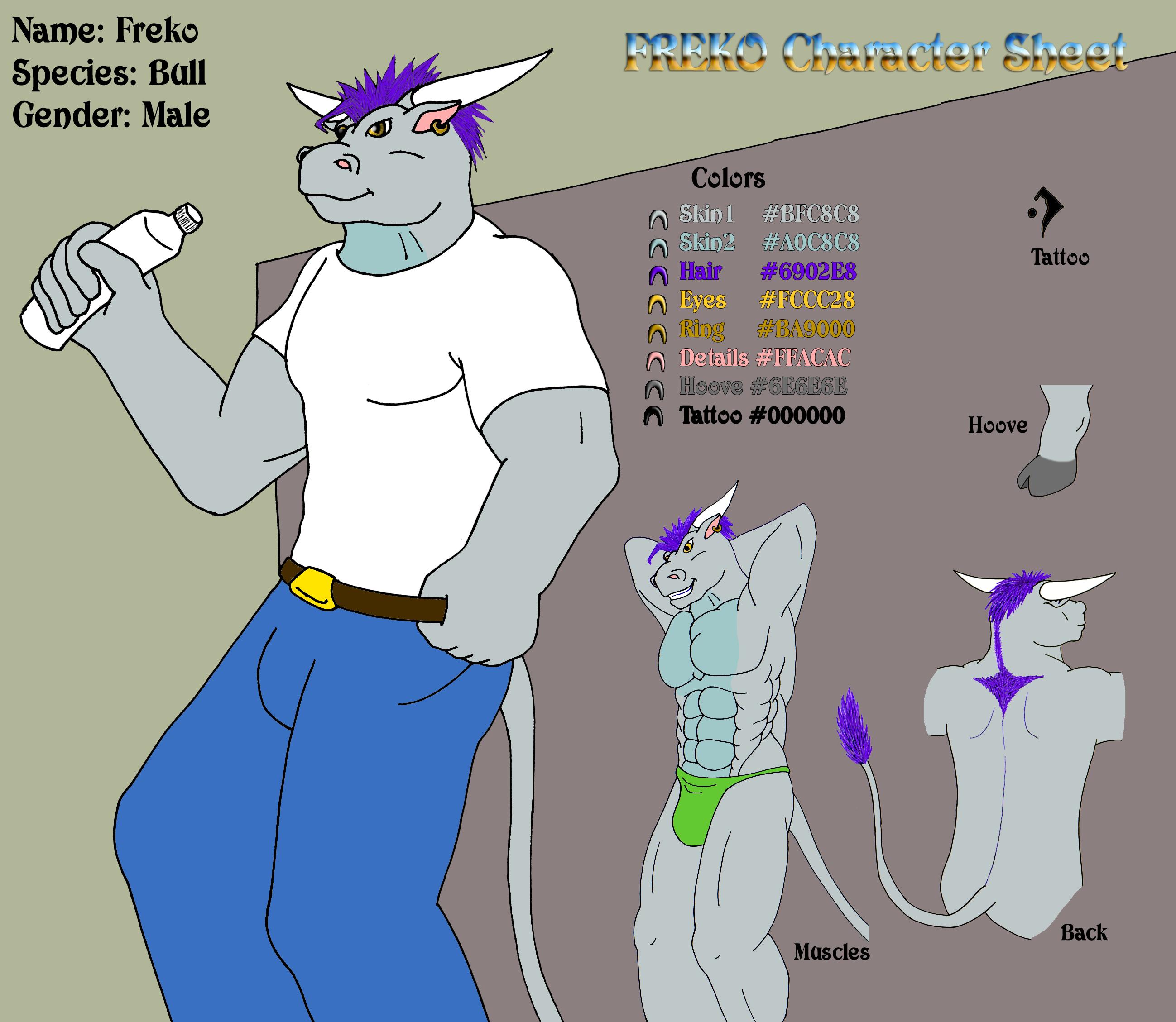 Character Sheet - Freko