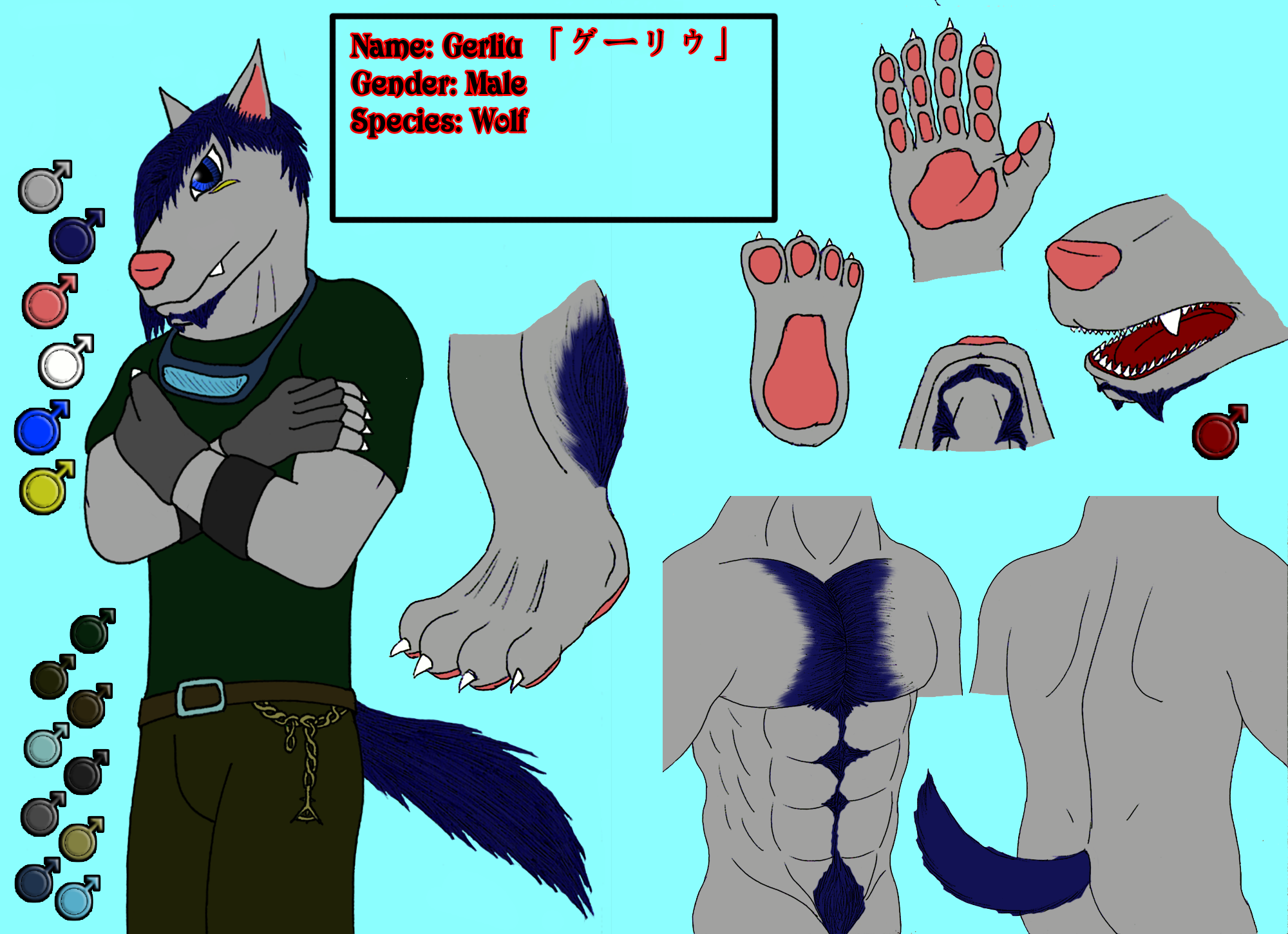 Character Sheet - Gerliu